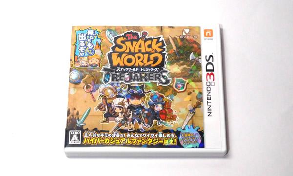 スナックワールド トレジャラーズ 3DS パッケージ版