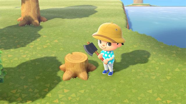 つもり 木 を 切る あ