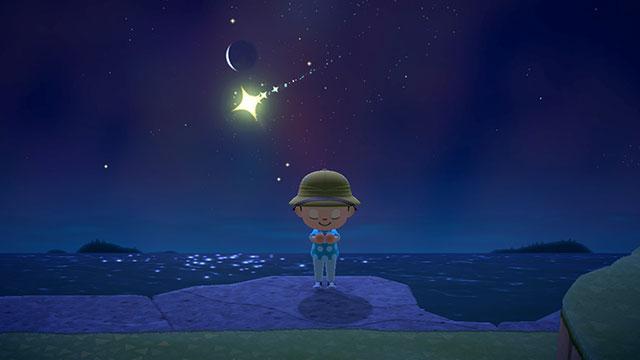 あつまれどうぶつの森 流れ星