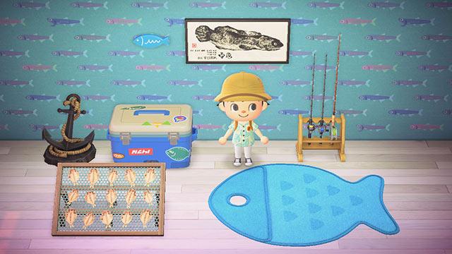 あつまれどうぶつの森 釣り大会 賞品 家具
