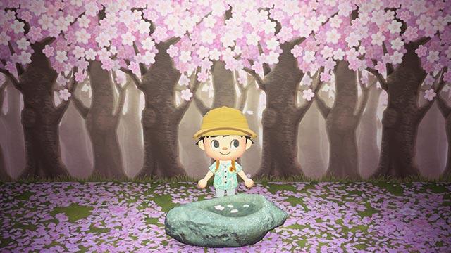 あつまれどうぶつの森 桜の家具 レシピ