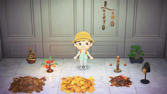 あつまれどうぶつの森 木の実家具 レシピ