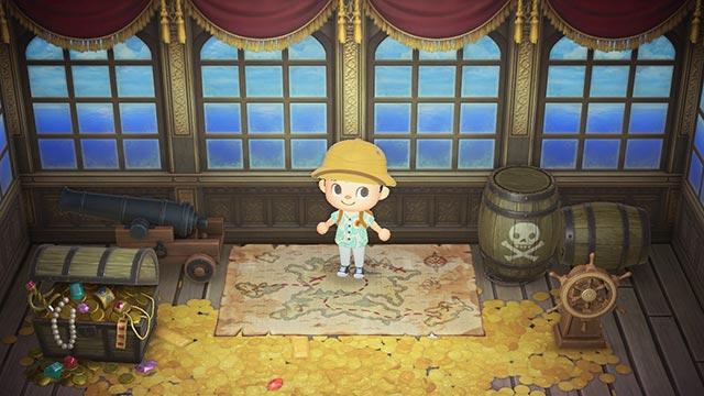 あつまれどうぶつの森 海賊シリーズ 家具