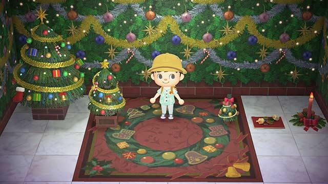 あつまれどうぶつの森 クリスマス 家具