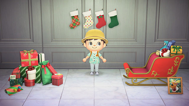 あつまれどうぶつの森 クリスマスイブ イベント家具