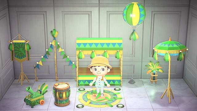 あつまれどうぶつの森 カーニバル 家具