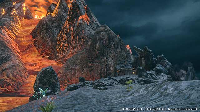 モンハンライズ 溶岩洞 サブキャンプ1 場所